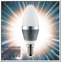 Dimmable 3 W LED Candlelight Bulb (E14 socket)
