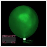 Flashing LED bunte Party-Ballons 5er Set