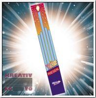 Giant sparklers 70cm long - Set of 5