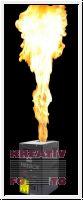 2x DMX Flammenprojektoren