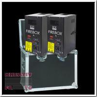 2x DMX Flame projector