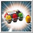 Eier Feuerfontäne 6er Pack in Eierschachtel
